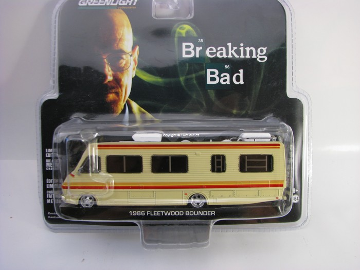 Fleetwood Bounder RV 1986 Breaking Bad 1:64 Greenlight